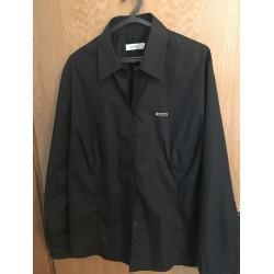Camisa ECCO Preta Manga Comprida