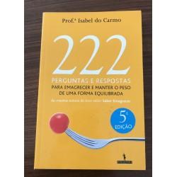 222 Perguntas para emagrecer e manter o peso duma forma equilibrada